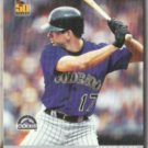 TODD HELTON 2001 Topps Post Insert #18 of 18.  ROCKIES