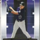 TODD HELTON 2005 Playoff Absolute #64.  ROCKIES
