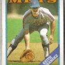 KEITH HERNANDEZ 1988 Topps #610.  METS