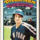 GREGG JEFFERIES 1988 Topps KMart Dream Team Rookie #11