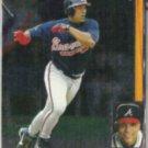 DAVE JUSTICE 1996 Upper Deck SP #28.  BRAVES