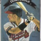 DAVE JUSTICE 1992 Donruss Diamond King Insert #DK-6