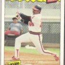 REGGIE JACKSON 1986 Fleer Best #18 of 44.  ANGELS