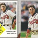 CHIPPER JONES 1998 Fleer Vintage 63 + Tradition.  BRAVES