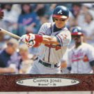 CHIPPER JONES 1996 Upper Deck #5.  BRAVES