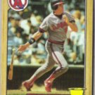 WALLY JOYNER 1987 Topps #80.  ANGELS