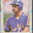 HOWARD JOHNSON 1988 Fleer Star Stickers #104.  METS
