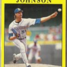 RANDY JOHNSON 1991 Fleer #455.  MARINERS