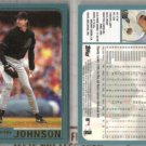RANDY JOHNSON (2) 2001 Topps #75.  DIAMONDBACKS