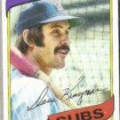 DAVE KINGMAN 1980 Topps #240.  CUBS