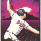 RYAN KLESKO 1994 Ultra ART Insert #5 of 10.  BRAVES
