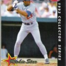 ERIC KARROS 1993 Topps Post Insert #6 of 30.  DODGERS.