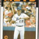 RAY KNIGHT 1986 Topps #27.  METS