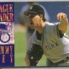 JIMMY KEY 1994 Fleer League Leader Insert #4 of 10.  YANKEES