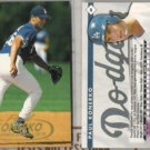 PAUL KONERKO (2) 1998 Fleer Tradition 97 Debut #69.  DODGERS