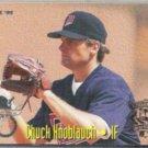CHUCK KNOBLAUCH 1995 Fleer All Star Insert #10 of 25.  TWINS