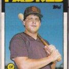JOHN KRUK 1986 Topps Traded Rookie #56T.  PADRES