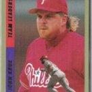 JOHN KRUK 1994 Fleer Team Leaders Insert #8 of 10.  PHILLIES