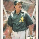 DAVE LOPES 1984 Fleer #453.  A's