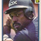 RON LeFLORE 1982 Donruss #165.  WHITE SOX