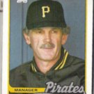 JIM LEYLAND 1989 Topps #284.  PIRATES