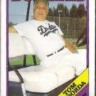 TOM LaSORDA 1988 Topps #74.  DODGERS