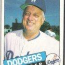 TOM LaSORDA 1985 Topps #601.  DODGERS