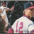 MARK LANGSTON 1993 Ultra Top Glove Insert #10.  ANGELS