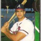 JAVIER LOPEZ 1993 Stadium Club Team Braves Rookie #27.
