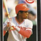 BARRY LARKIN 1989 Donruss #257.  REDS