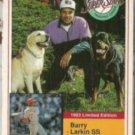 BARRY LARKIN 1993 Milkbone Stars Insert #3 of 20.  REDS
