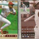 BARRY LARKIN (2) 1995 Fleer Ultra #145.  REDS
