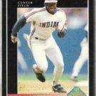 KEN LOFTON 1992 Pinnacle Rookie Prospect #582.  INDIANS