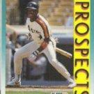 KEN LOFTON 1992 Fleer Prospects #655.  ASTROS