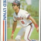 FRED LYNN 1982 Topps In Action #252.  ANGELS