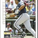 CARLOS LEE 2006 Upper Deck First Pitch #106.  BREWERS