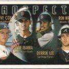DERREK LEE 1996 Topps Prospects #424.  PADRES