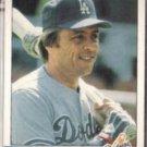 RICK MONDAY 1984 Fleer #106.  DODGERS