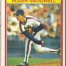 ROGER McDOWELL 1986 KayBee Young Stars #21 of 33.  METS