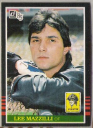 LEE MAZZILLI 1985 Donruss #386.  PIRATES