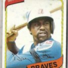 GARY MATTHEWS 1980 Topps #355.  BRAVES