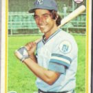 BUCK MARTINEZ 1978 Topps #571.  ROYALS