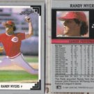 RANDY MYERS (2) 1991 Leaf #504.  REDS