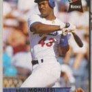 RAUL MONDESI 1993 Fleer Ultra Rookie #402.  DODGERS