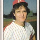 TUG McGRAW 1981 Topps mini Sticker #205.  PHILLIES