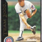 GREG MADDUX 1992 Pinnacle Team 2000 Insert #32 of 80.  CUBS