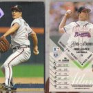 GREG MADDUX (2) 1995 Leaf #115.  BRAVES