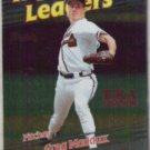 GREG MADDUX 1999 Topps Foil Leaders #231.  BRAVES