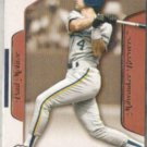 PAUL MOLITOR 2003 Fleer Flair Greats #86.  BREWERS