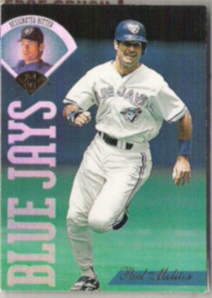 PAUL MOLITOR 1995 Leaf #181.  BLUE JAYS